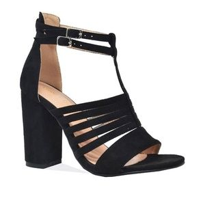 NEW Women's Black Gladiator Sandal